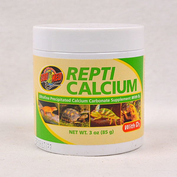 ZOOMED Repti Calcium 85g Reptile Supplement Zoo med With D3