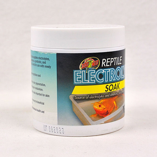 ZOOMED Reptile Electrolyte Soak Reptile Supplement Zoo med