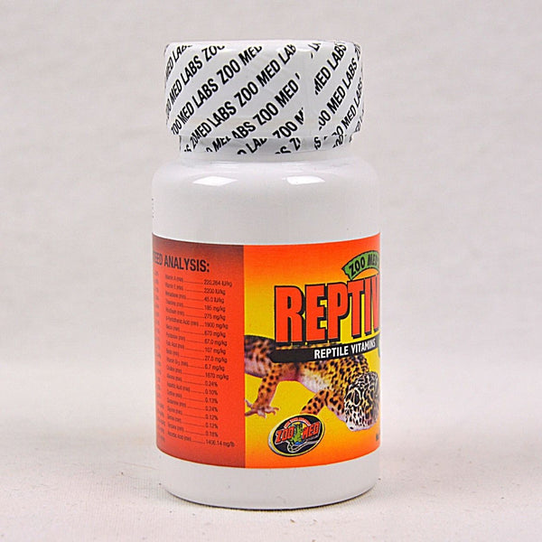 ZOOMED Reptivite Without D3 56,7g Reptile Supplement Zoo med