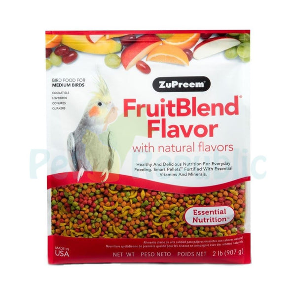 ZUPREEM FruitBlend Flavor Medium 907gr - Pet Republic Jakarta