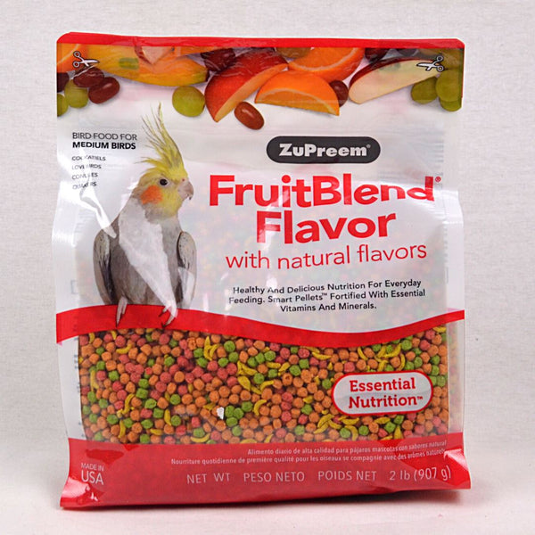 ZUPREEM FruitBlend Flavor Medium 907gr Bird Food Zupreem