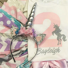 Unicorn Horn  Girls Headband