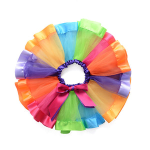GirlsRainbow Tutu Skirt