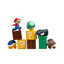 10 Pcs 3D Super Mario Fridge Magnets