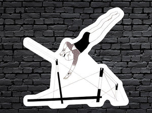 Gymnast Sticker- BAIL