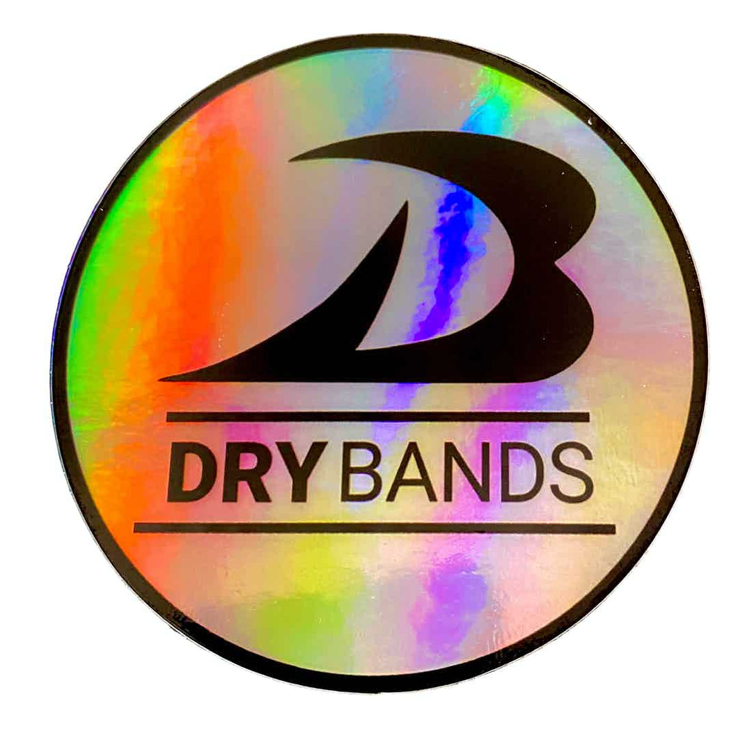 Limited Time Holographic DRYbands Logo Stickers