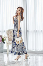 Allura Pattern Maxi Dress -Dress - Ktrend Fashion