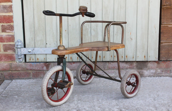 A charming 1950s Child's Tricycle by Torek