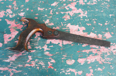 Edwardian Cast Iron Hand Fork
