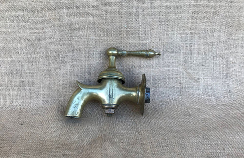 A Late 19th C English Brass Tap