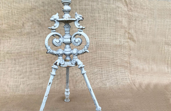 A Colebrookdale Cast Iron Tripod Table