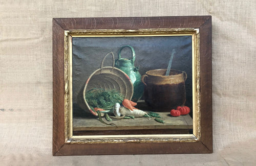 An Early 20th C French Oil on Canvas Still Life