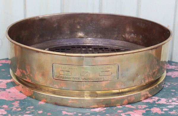 Industrial Brass & Iron Sieve