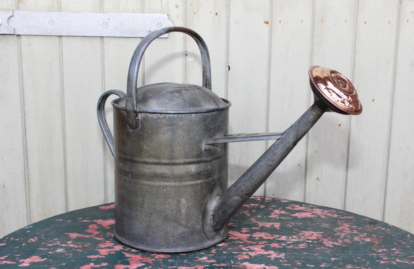 A Vintage Galvanised Beldray 1 1/2 Gallon Watering Can