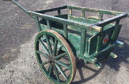 A charming late 19th century Austrian farmers's cart.