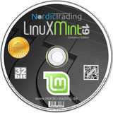 Linux Mint 19.3 Cinnamon DVD in stabiler DVD-Box
