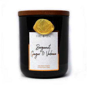 bergamot ginger and verbena candle cocosoy wax melt