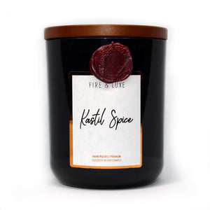 kastil spice candle cocosoy wax melt