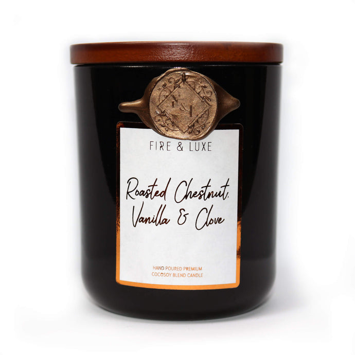 Roasted Chestnut, vanilla and clove candle wax melt