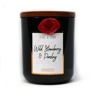 wild strawberry and parsley cocosoy candle wax melt