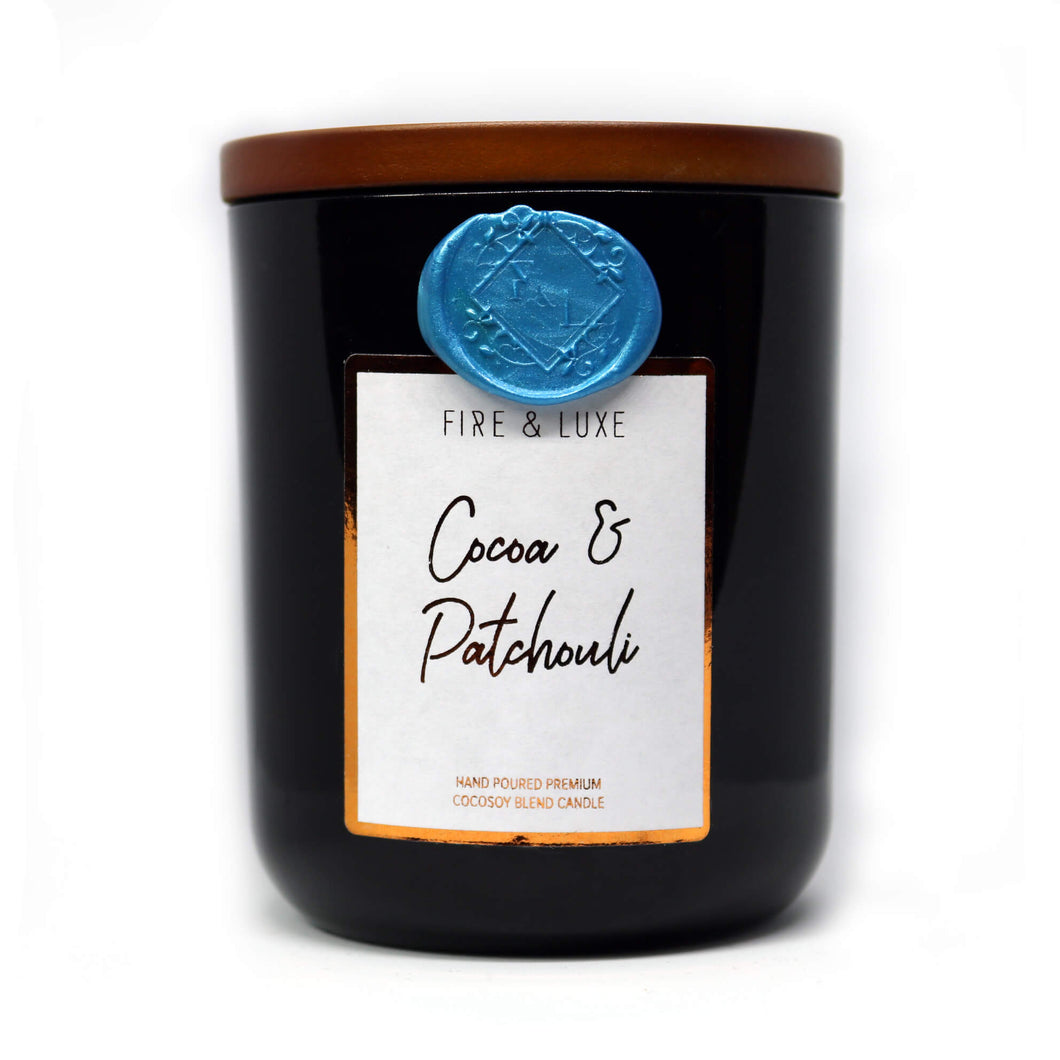 cocoa and patchouli candle cocosoy wax melt