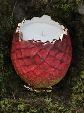 Hatched Dragon Egg Red