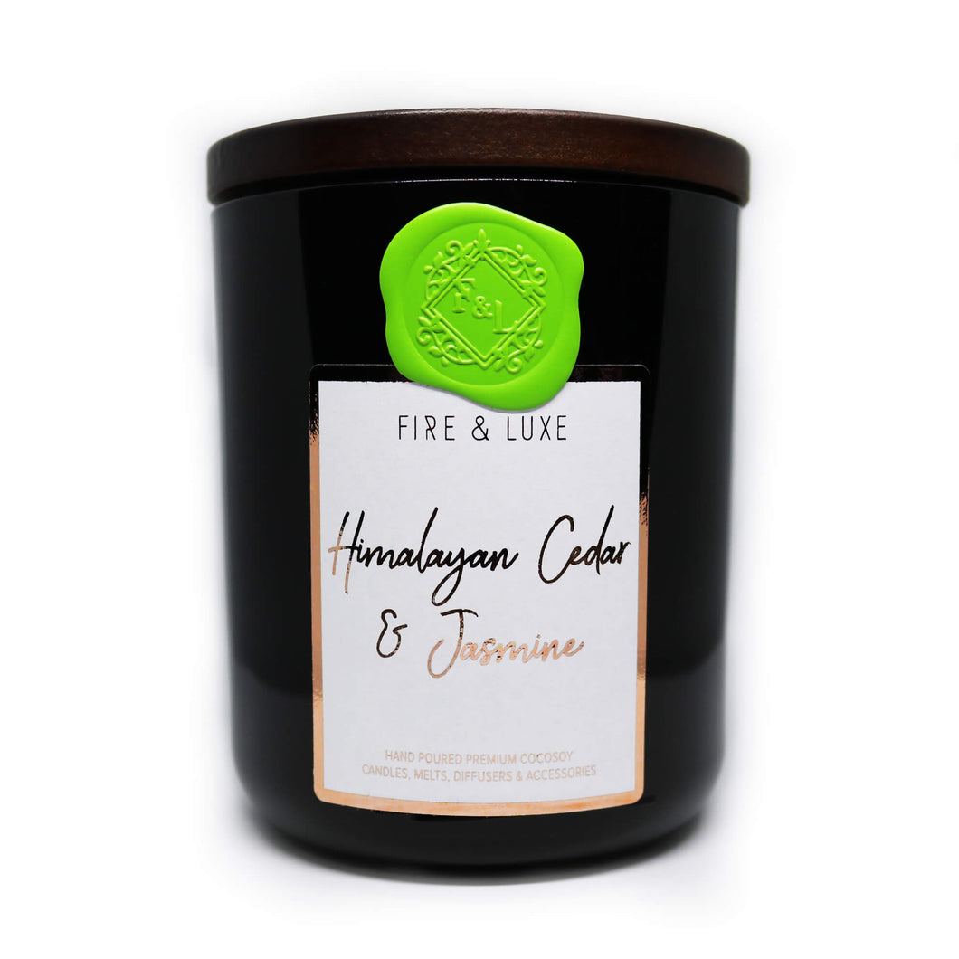himalayan cedar and jasmine candle cocosoy wax melt