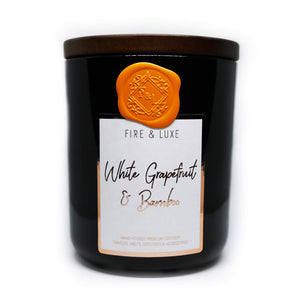 white grapefruit & bamboo candle cocosoy wax melt
