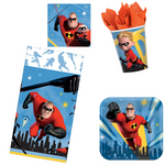 Incredibles 2 Party Supplies - Basic (16 Guests)
