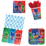 PJ Masks Birthday Party Supplies - Basic (16 Guests)