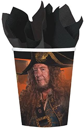 Pirates of the Caribean Party Supplies Deluxe Bundle Pack for 16 Guests