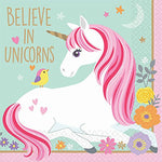 Magical Unicorn Birthday Party Supplies Bundle Pack for 16 Guests with Party Planning Book