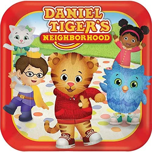 Daniel Tiger Party Supply Pack 16 Guests