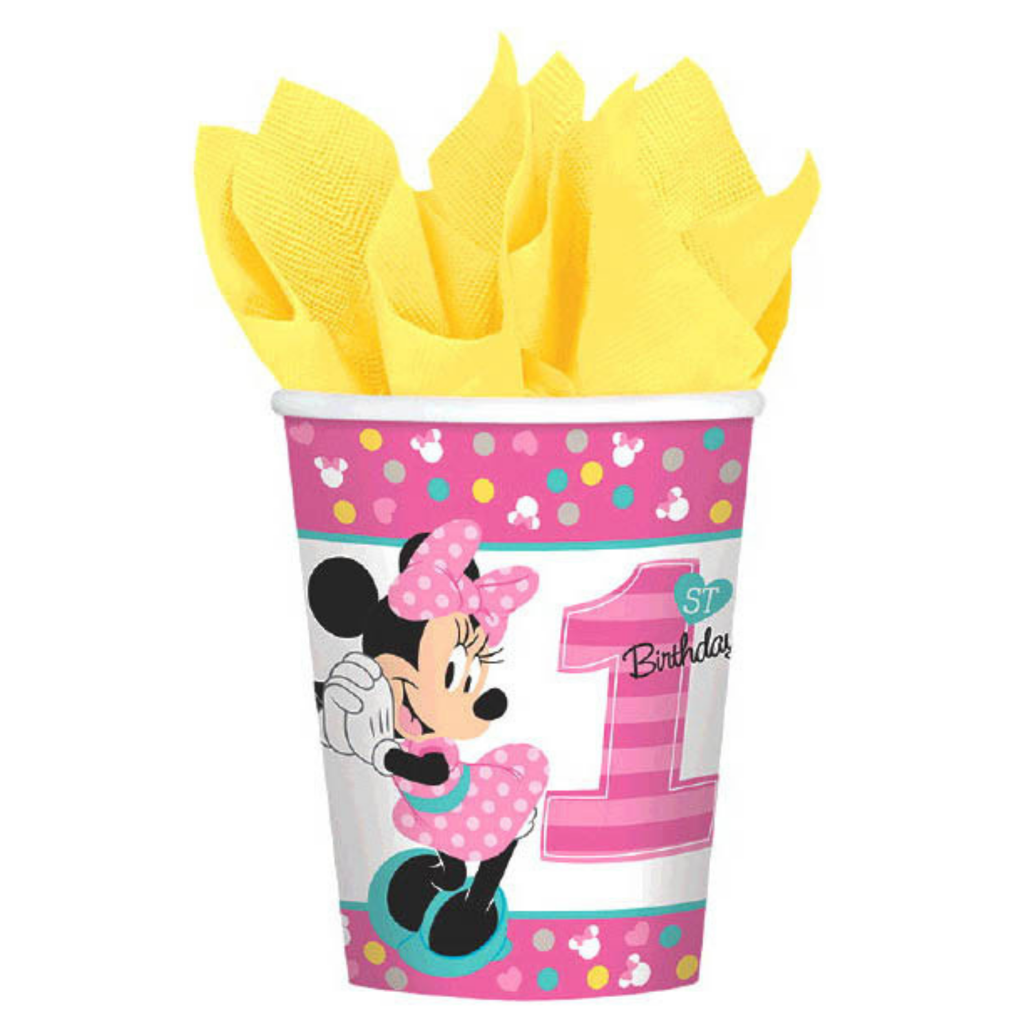 Minnie's Fun To Be One Birthday Party Supplies - Basic (16 Guests)