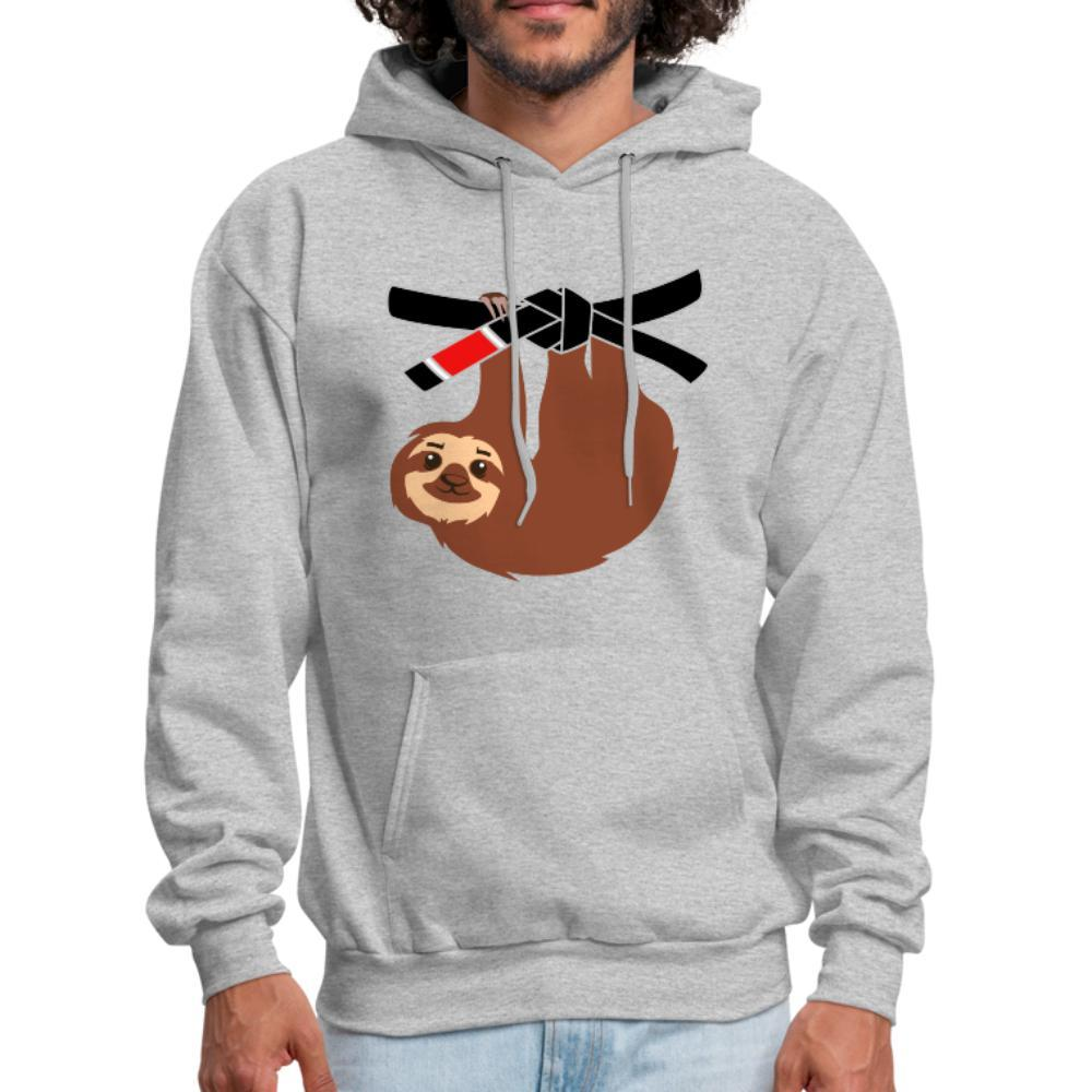 Black Belt Sloth Men's Hoodie- [option1Jiu Jitsu Legacy | BJJ Apparel and Accessories