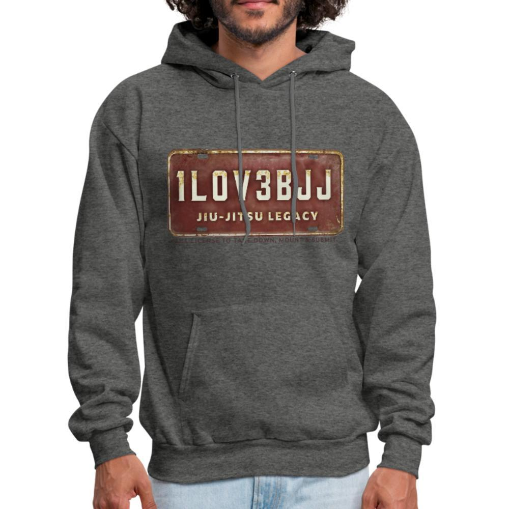 I Love BJJ - take down , mount and submit Men's Hoodie- [option1Jiu Jitsu Legacy | BJJ Apparel and Accessories