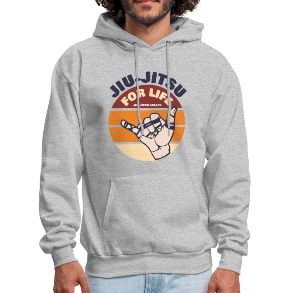Jiu Jitsu for Life Men's Hoodie- [option1Jiu Jitsu Legacy | BJJ Apparel and Accessories