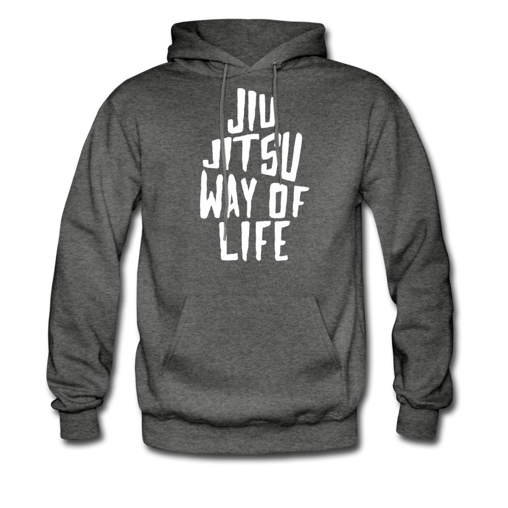 Jiu Jitsu Way of Life Men's Hoodie- [option1Jiu Jitsu Legacy | BJJ Apparel and Accessories
