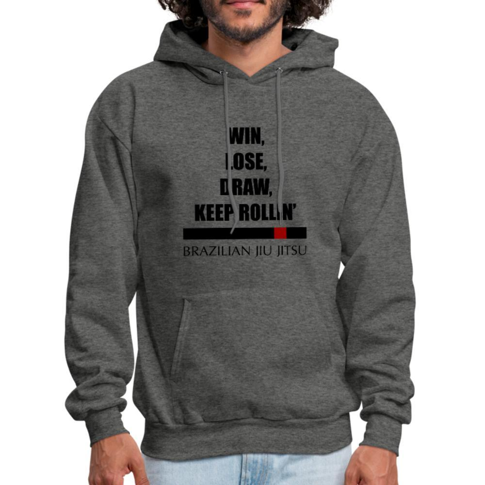 Keep rollin' Men's Hoodie- [option1Jiu Jitsu Legacy | BJJ Apparel and Accessories