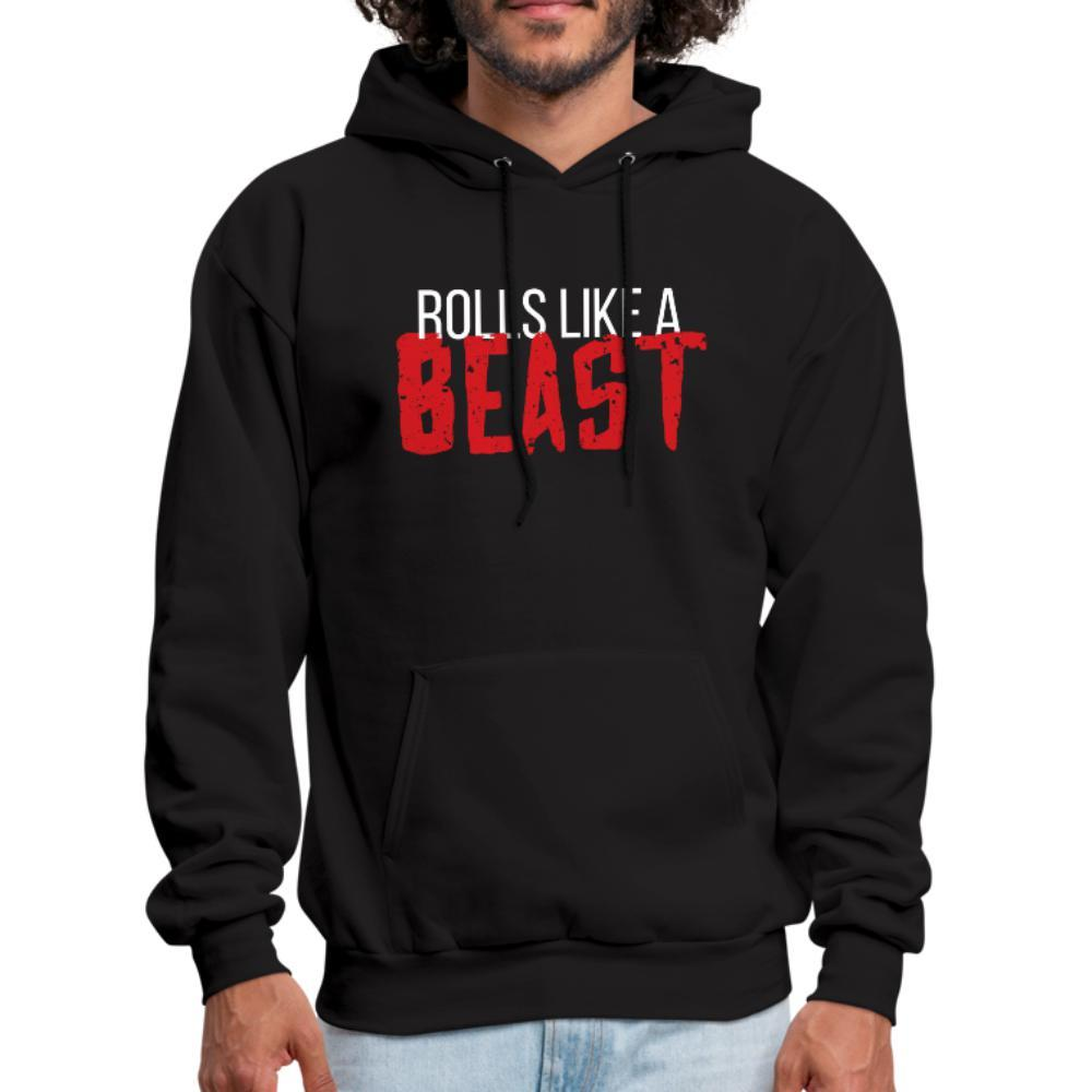 Rolls like a beast Men's Hoodie- [option1Jiu Jitsu Legacy | BJJ Apparel and Accessories