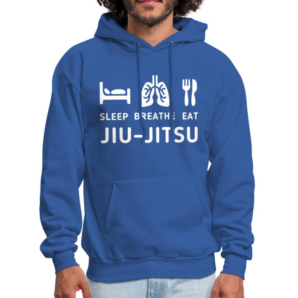 Sleep Eat Breath Jiu Jitsu Men's Hoodie- [option1Jiu Jitsu Legacy | BJJ Apparel and Accessories