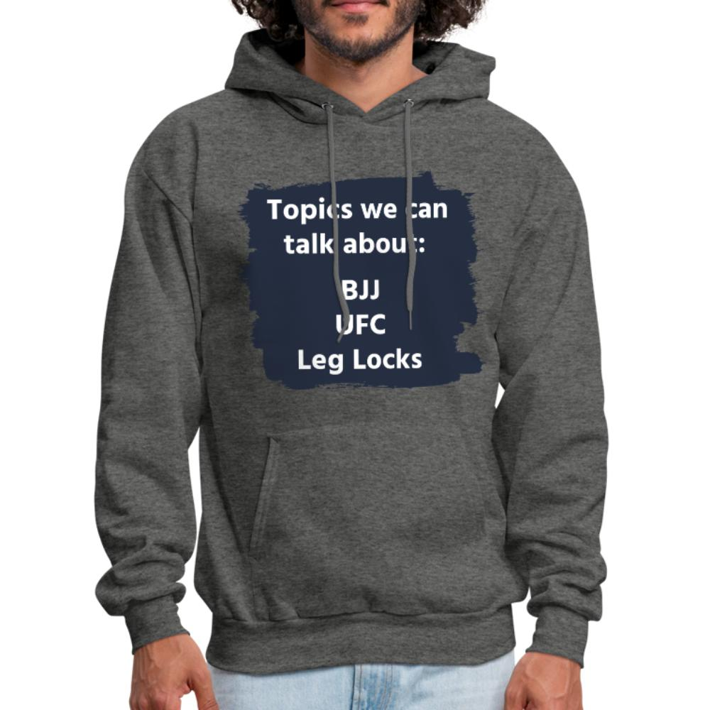 Topics we can talk about Men's Hoodie - heather gray
