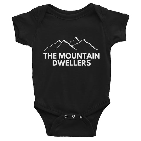 Mini Mountain Dwellers Baby Bodysuit
