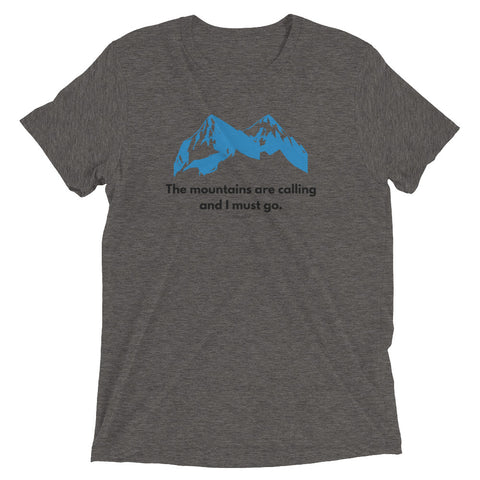 "Women's ""The Mountain's Are Calling"" Short Sleeve T-shirt"