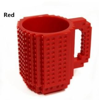 Bar & Wein-accessoires Build A Brick Mug Cup Diy Building Blocks Coffee Cupsred