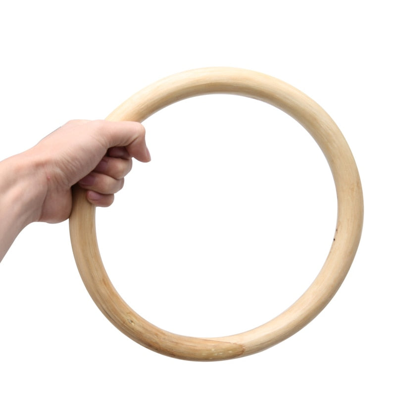 Rattan Wood Kungfu Ring