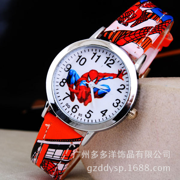 Spiderman Cartoon Watch for Boys