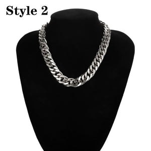 Thick Chain Necklaces