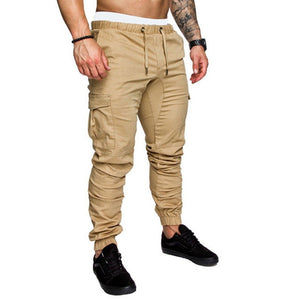 Men safari cargo pants