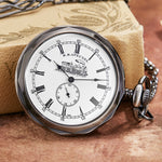 Steampunk Mechanical Analog Hand Wind Fob Watch